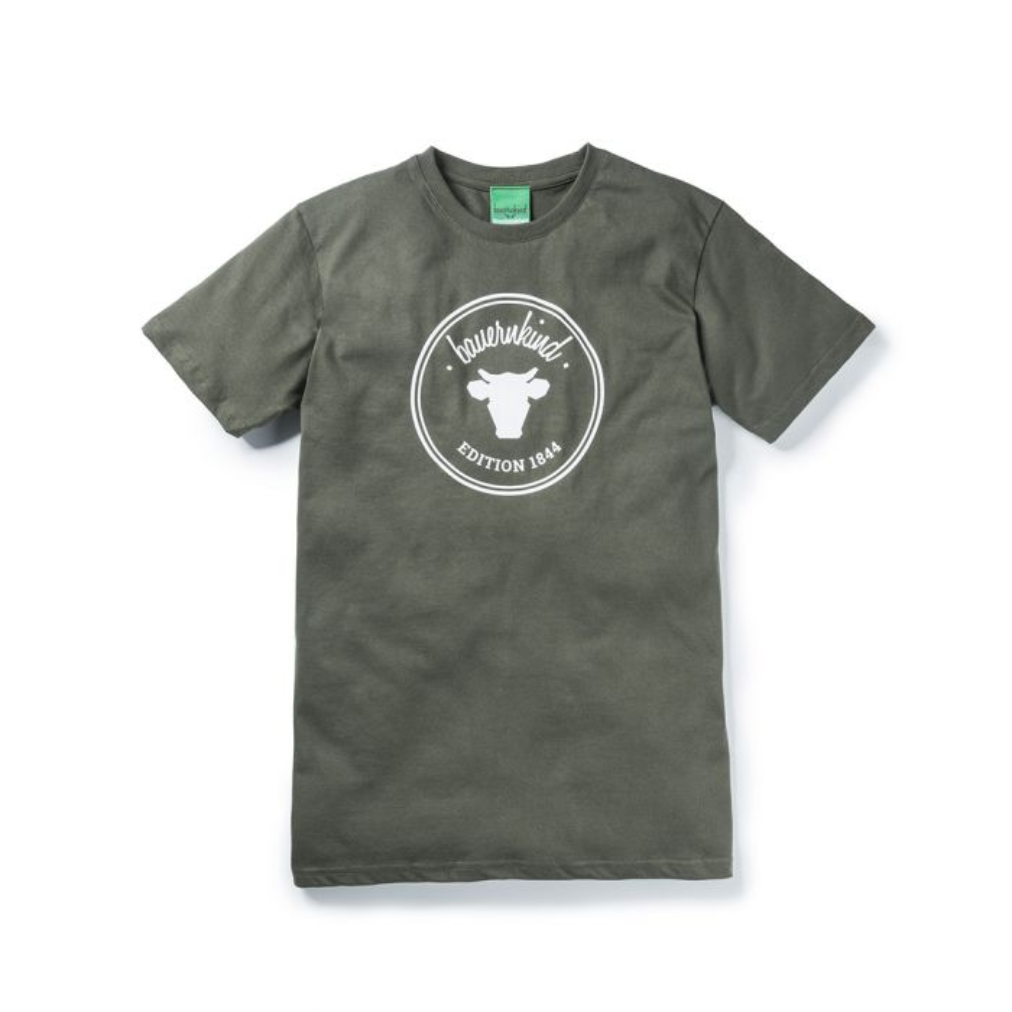 online store 9cbd5 323d1 bauernkind & Wochenblatt Edition 1844 Khaki T-Shirt Herren