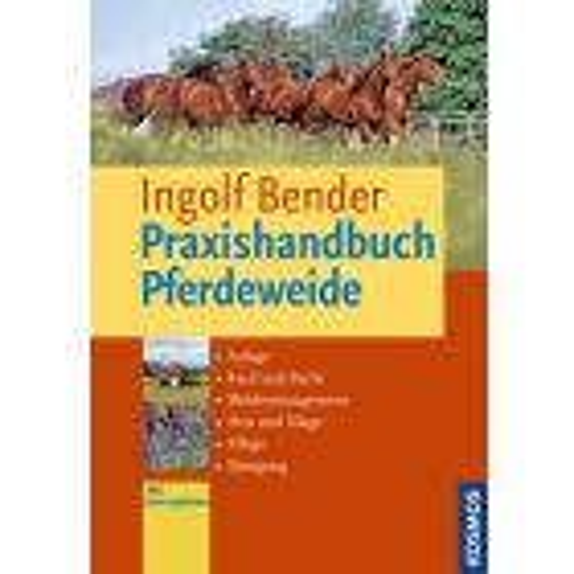 Praxishandbuch der Pferdeweide