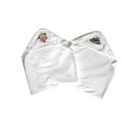 Kapuzenhandtuch Kuh