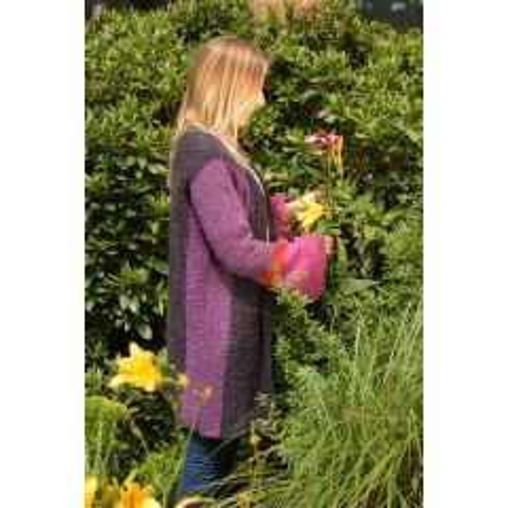 Landlust - Wollset Jacke mit weiten Ärmeln